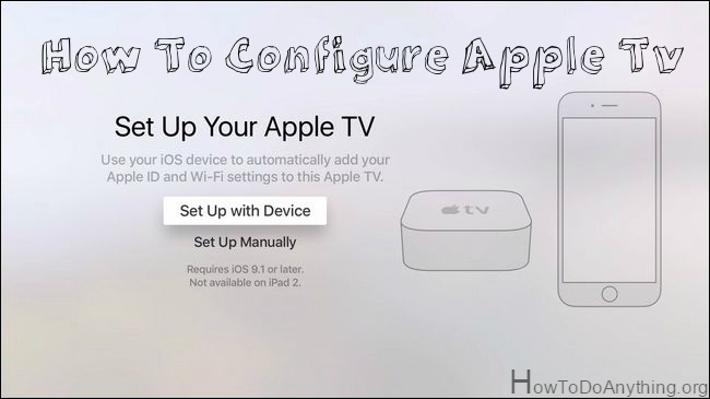 How To Setup and Configure Apple Tv