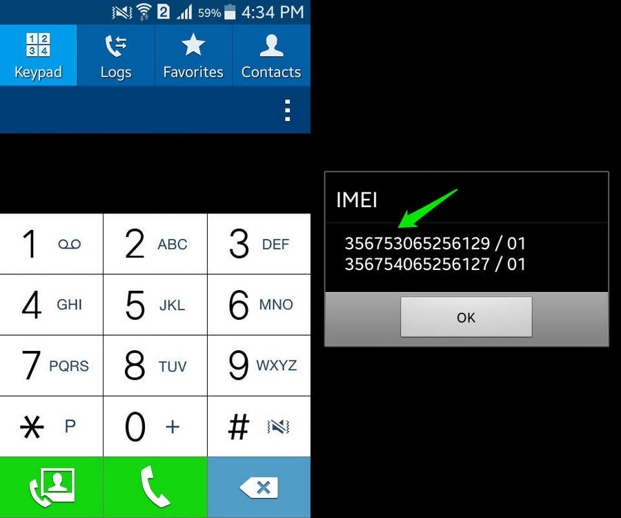 how to find IMEI number