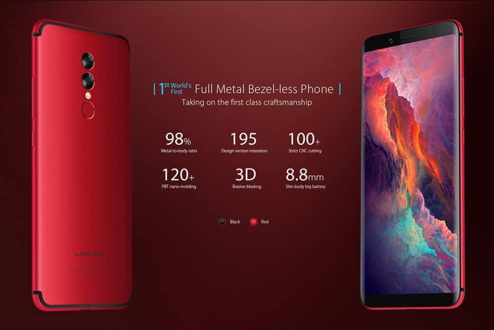 0a3a14925 UMIDIGI S2 World s First 6 inch Full Metal Bezel Less phone  Best battery  backup